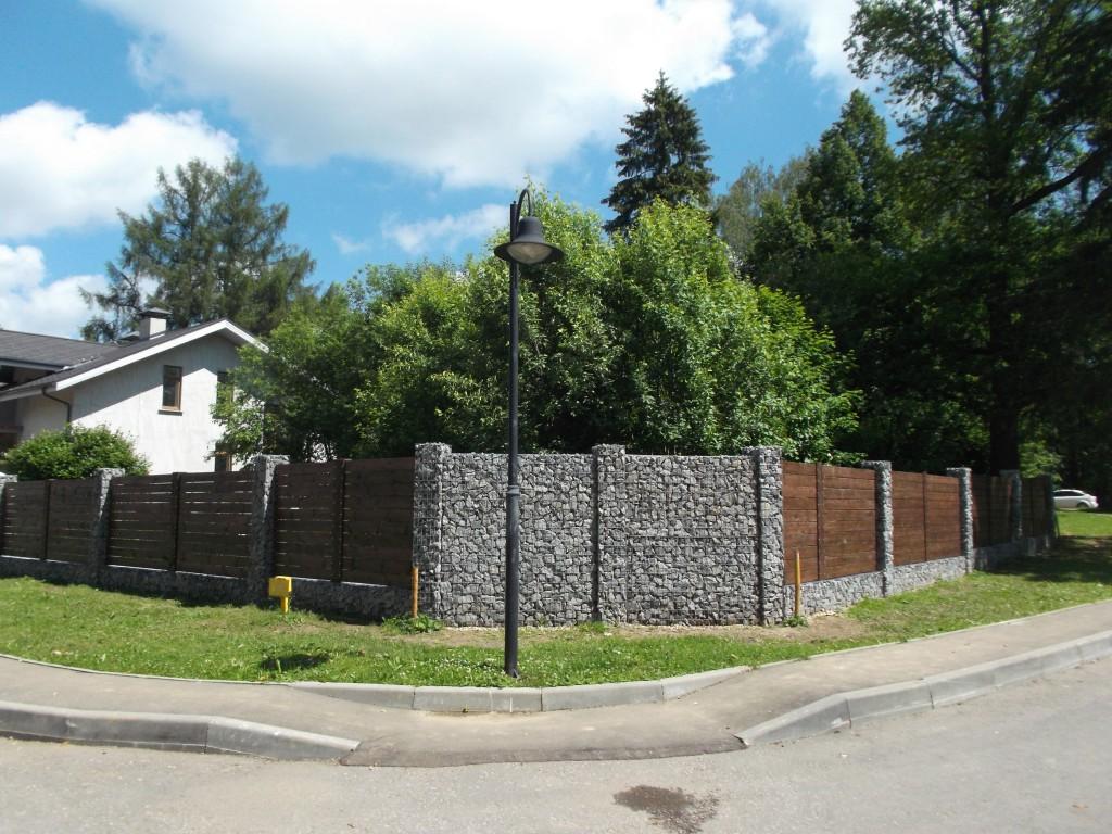 забор из габионов Истра