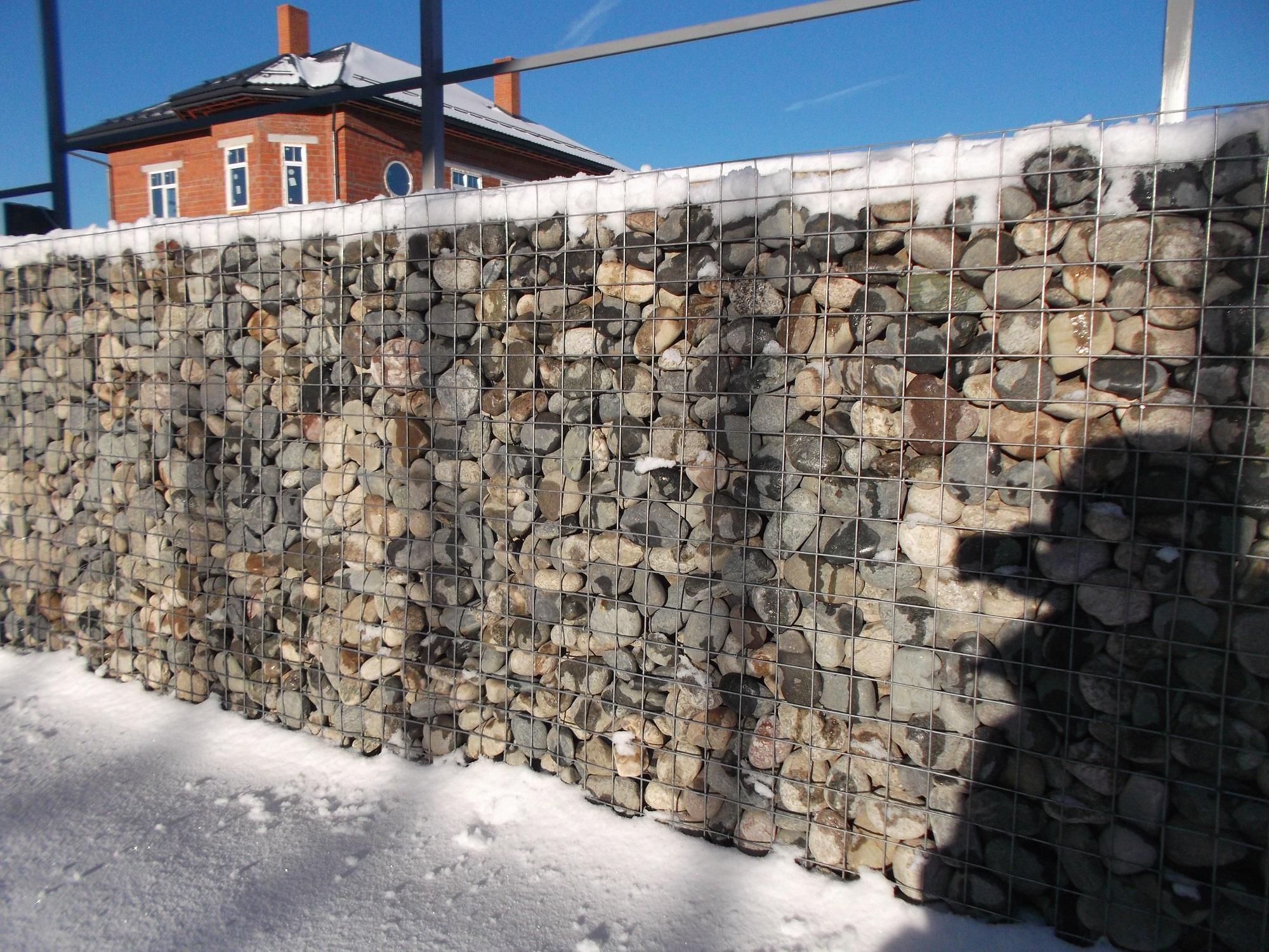 Заборы из габионов своими руками 631